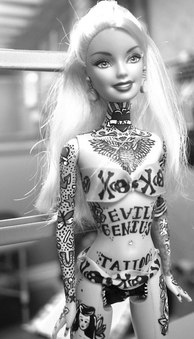 barbie-tattoo-design-